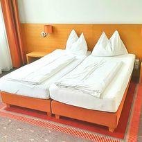 Doppelzimmer Superior im Hotel Fabrik